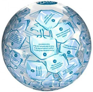 Clever Catch Ice Breaker Ball