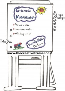 Preparing for Effective Flip Charts Use