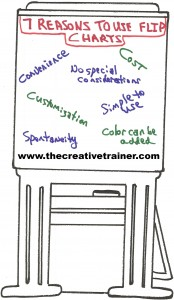 Seven Good Reasons to Use Flip Charts in Training