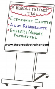 A Simple Way to Increase Flip Chart Readability
