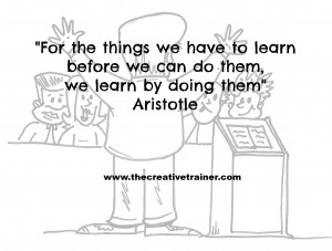 Accelerated Learning Quote - Aristotle