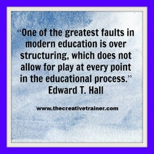 Accelerated Learning Related Quote - Edward T. Hall