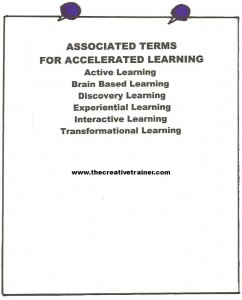 Accelerated Learning Techniques Can Lead Adult Learners to Increased Transfer of Training