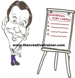 Train the Trainer Tips – Illustrating a Flipchart with Graphics
