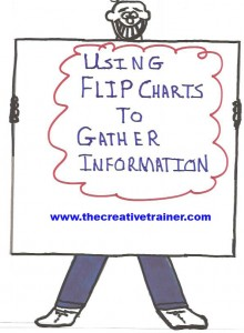 Using Flip Charts to Gather Information During Training Sessions and Meetings