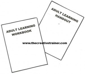 Tips for Effectively Designing and Using Adult Learning Handouts